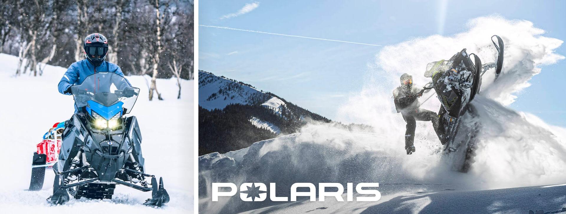 Polaris snöskotrar MY22